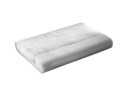 a regular rectangular white pillow